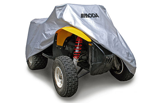 ATV CoversProtect your ATV from rain, dirt, dust and snow with a durable all season silver reflective cover.SHOP ATV COVERS