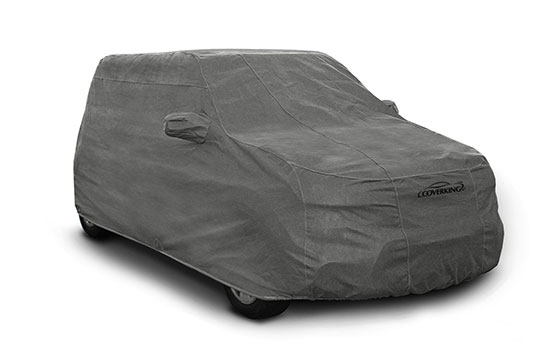 custom car cover triguard suv grey