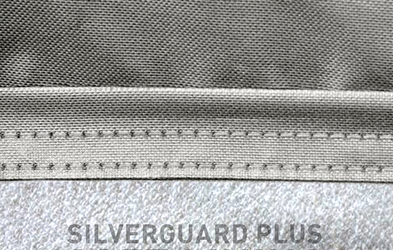 silverguard plus custom cover stiching
