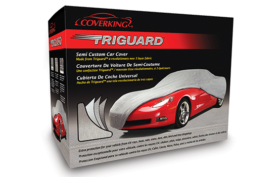 triguard semi custom car cover packaging