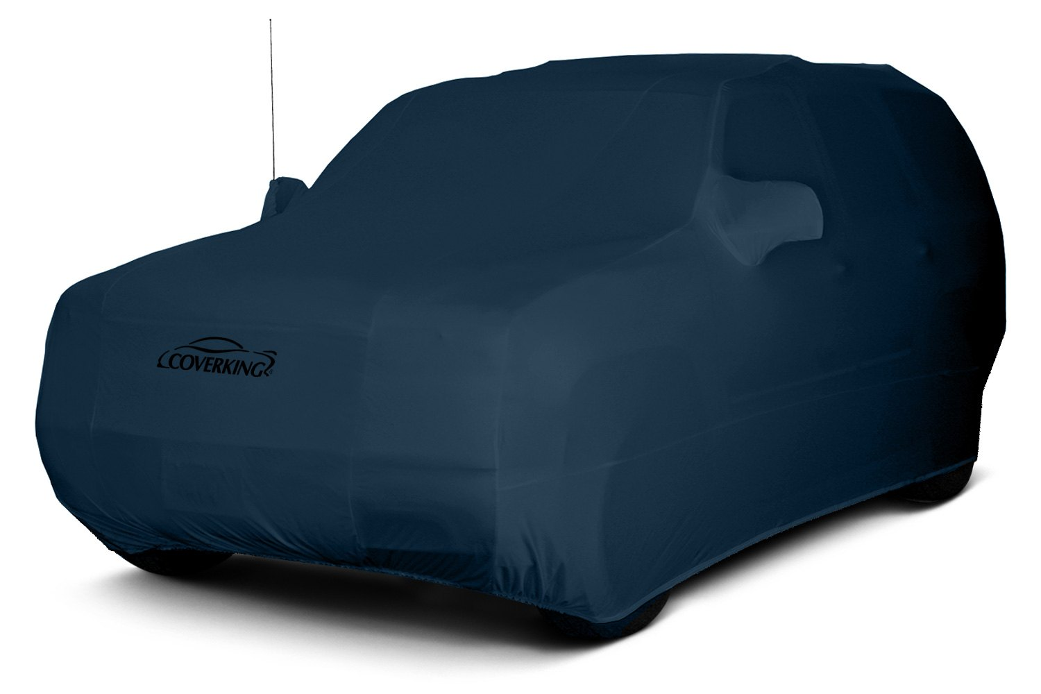 satin stretch navy blue suv covers 2