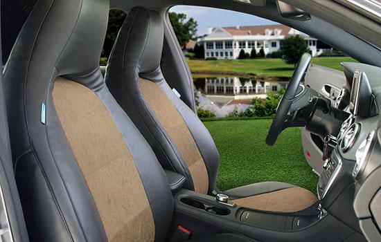 alcantara custom seat covers view