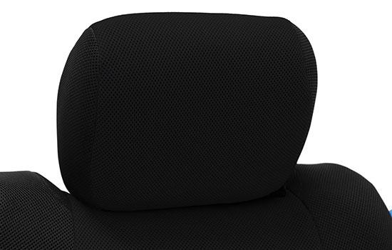 spacer mesh custom seat covers headrest