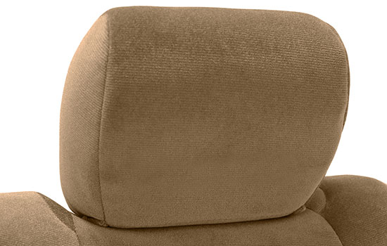 velour custom seat covers headrest