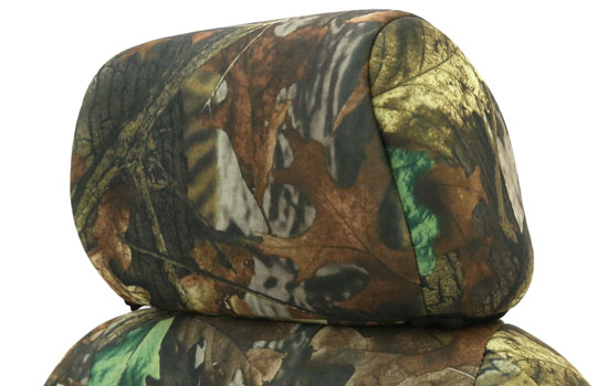 realtree custom seat covers headrest