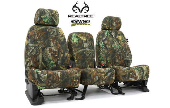 realtree custom seat covers main