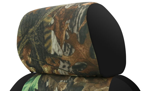 realtree custom seat covers headrest