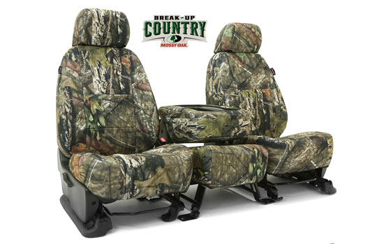 mossy oak custom seat covers folded