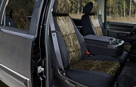 mossy oak custom seat covers view