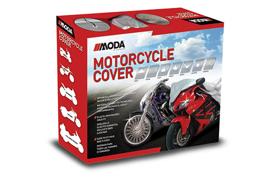 power sports cover motorcycle cover packaging