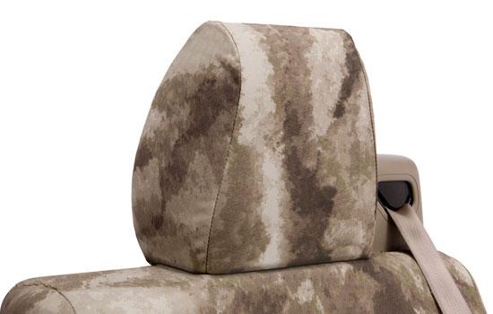 atacs custom seat covers headrest