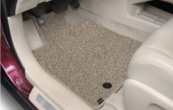 Berber Car Mats Beige Heathered Driver 1