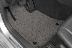 Berber Grey Heathered Driver Mats-240