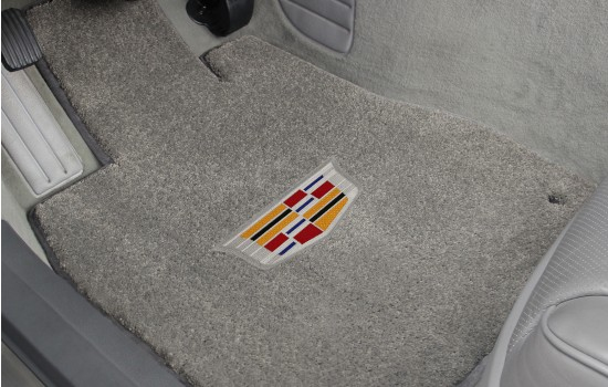 Cadillac Crest Luxe Mats Grey Driver