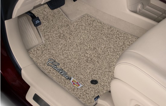 Cadillac Sideways Berber Car Mats Beige Heathered Driver