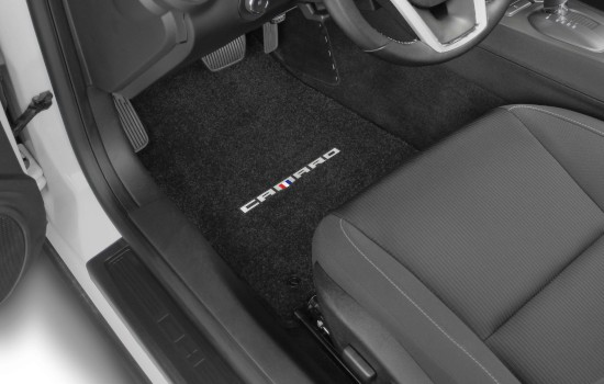 Camaro Word Logo Ultimat Mats Driver 1