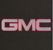 GMC Silver and Red Mat-183