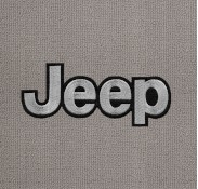 Jeep Silver on Black Mat-183
